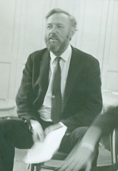 Black & White Photograph of UC Berkeley Professor Thomas Francis Parkinson (1920 - 1992). 20th...