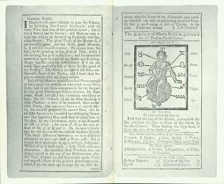 Poor Richard's Almanack. 1733. A Facsimile of the only copy known, in the collection of the...