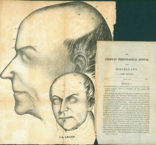 American Phrenological Journal And Miscellany (New Series). June 1843, Vol. V, No. 6. Diagram of...