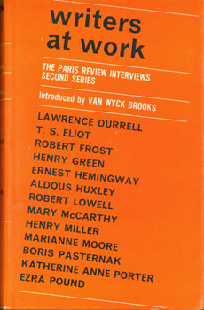Writers At Work. The Paris Review Interviews. Second Series. Introduced by Van Wyck Brooks....