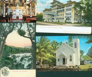 Vintage Postcards From Hawaii (5). Hawaii, South Seas Curio Co, Jas. Steiner Island Curio Co.,...