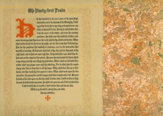 The Ninety-first Psalm. Printed by John Henry Nash for his friends. One of 210 copies, signed by...