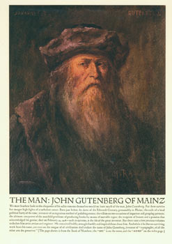 Gutenberg : a reproduction of a portrait in oils by Henry Raschen after the original (artist...