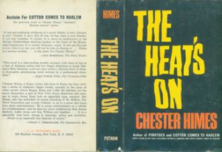 The Heat's On. Dust Jacket for First Edition with price ($4.95) listed on flap inside cover....