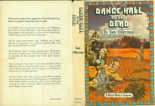 Dance Hall Of The Dead. Dust Jacket for First Edition, price ($5.95) on flap inside cover. Tony Hillerman, Gail Burwen, jacket design.