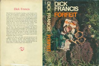 Forfeit. Dust Jacket for First Edition, price (25s net) on flap inside cover. Dick Francis, Ann...