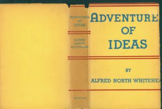 Adventures Of Ideas. Dust Jacket for Original US First Edition, price ($5.00) on flap inside...