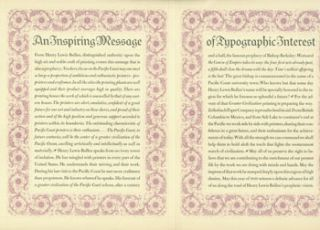 An inspiring message of typographic interest : written for Zellerbach Paper Company. Edward F....