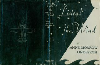 Dust Jacket for Listen! The Wind! Price of $1.29 on flap. [Original First Edition.]. fwd., maps,...