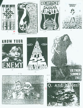 Bulletin Of The AOUON Archive. No. 13 (Jan. 1991). Posters of the U.S. Movement Against The War...