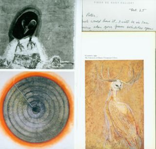 Dossier related to artist Morris Graves from Peter Selz Files, including: The Visionary Art Of...