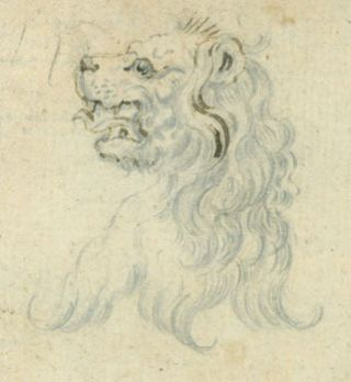Lion. 19th Century British Artist?