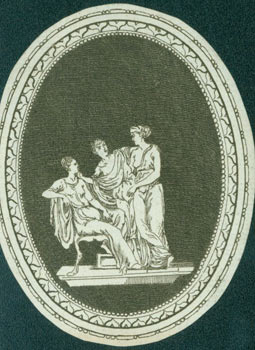 Engraving of a Greek Cameo. 19th Century British Engraver?