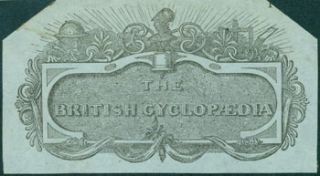 Engraving for The British Cyclopedia. 19th Century British Engraver?