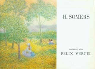 H. Somers Exclusively With Felix Vercel. Exhibition January 26 - February 20, 1971. New York,...