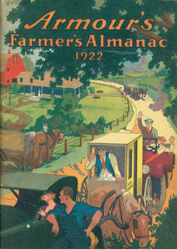Armour's Farmers' Almanac 1922. Armour Fertilizer Co, Chicago