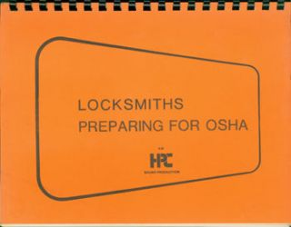 Locksmiths Preparting For OSHA. HPC Sound Production, Nathan Willens