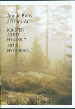 Promotional Brouchure for a full sized book). Art's Mysterious. Annan Konst/Other Art. Konsten Ar...