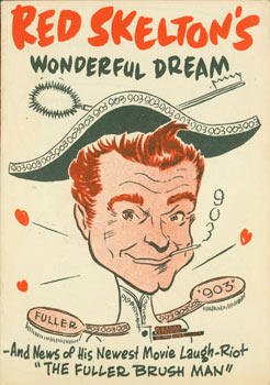 "Red Skelton's Wonderful Dream--And News of His Newest Movie Laugh-Riot ""The Fuller Brush Man.""..."