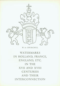 Prospectus for Watermarks In Paper in Holland, France, England, Etc. In The XVII and XVIII...