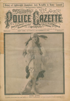 The National Police Gazette: The Leading Illustrated Sporting Journal In The World. New York:...