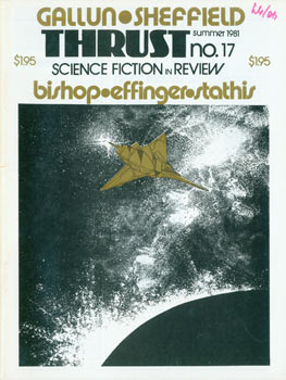 Thrust No. 17. Science Fiction in Review. Summer 1981. D. Douglas Fratz
