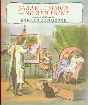 Sarah And Simon and No Red Paint. Original First Edition. Edward Ardizzone