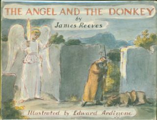 The Angel And The Donkey. Original First American Edition. Edward Ardizzone, James Reeves
