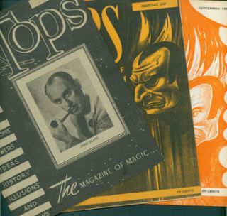 Tops: The Magazine of Magic. 54 Issues from 1946 - 1956. Abbott's Magic Novelty Company, Michigan...