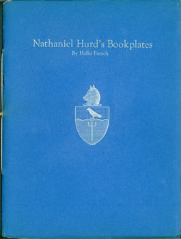 Nathaniel Hurd's Bookplates. Numbered 3 of 35. American Society of Bookplate Collectors And...