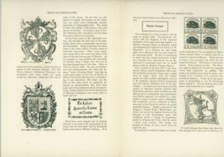 Mexican Bookplates, By Frederick Starr. Reprinted from The Bookplate Annual for 1923. Luis N....