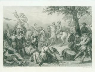 Battle Scene]. After Horace Vernet, Ferd. Delannoy, artist, engrav