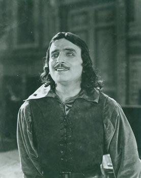 Promotional B&W Photograph for The Three Musketeers, a United Artists film featuring Douglas...