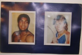 Greatness: Andy Warhol Polaroids Of Sports Champions. October 31 - December 12, 2009. Danziger...