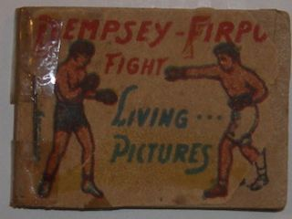 Dempsey-Firpo Fight. Living... Pictures. 20th Century American Publisher