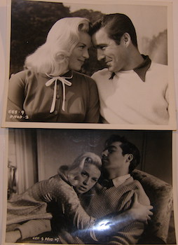 PR Stills Of Diana Dors & Michael Craig in Yield To The Night. Associated British-Pathe