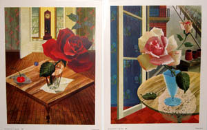 Roses by Racoff. (Nos. 1651 - 1652). Inc Donald Art Co, Rastislaw after Racoff