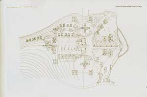 Plan of Como Orchard Summer Colony, Darby, Montana, 1909. Pl. XLVI. Frank Lloyd Wright