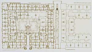 Lexington Terraces. Ground Plan, 1909. Pl. VII. Frank Lloyd Wright