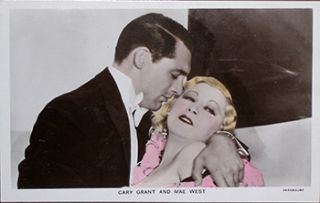 Cary Grant and Mae West. 20th Century Photographer