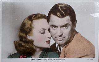 "Cary Grant and Carole Lombard. Scene from the motion picture ""In Name Only"".). 20th Century..."